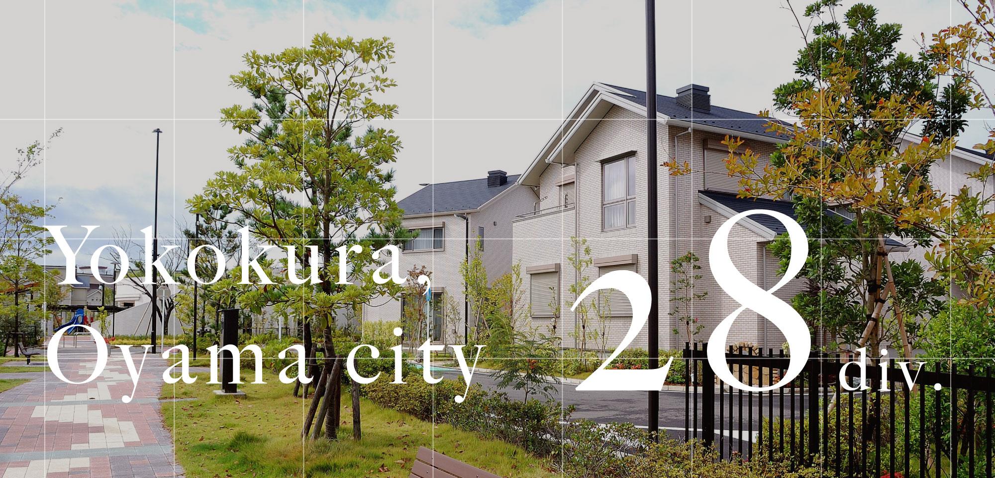 Yokokura,Oyama city 28div.